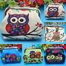 Ladies Kids Cute Coin Key Purse Cartoon Owl Wallet Mini Clutch Small Bag Pouch