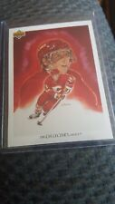 1991-92 Upper Deck THE COLLECTOR'S CHOICE Theoren Fleury Calgary Flames Checklis