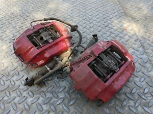 PEUGEOT 406 COUPE FRONT BREMBO BRAKE CALIPERS PAIR