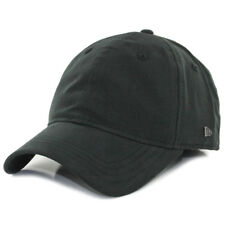 "New Era EK Collection ""Essential 920"" Strapback Hat (Black) Unisex Plain Dad Cap"