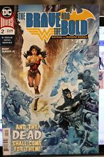 THE BRAVE AND THE BOLD (BATMAN AND WONDER WOMAN) #2  DC COMICS (2018)