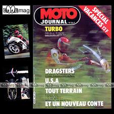 MOTO JOURNAL N°567 YAMAHA XJ 650 TURBO XS 1100 MERLIN DG 350 PUCH 80 BOMBARDIER