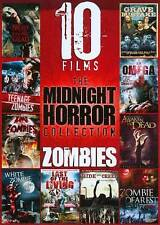 NEW!!! 10 ZOMBIE Films DVD Set:TEENAGE~KING OF THE~WHITE~DEAREST~I AM OMEGA~MORE