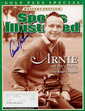 Arnold Palmer SIGNED Golf Plus Special Sports Illustrated 4/6/04 MINT COA!