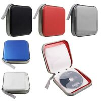 40 Disc CD VCD DVD Music DJ Album Storage Bag Holder Case EVA 5 Color