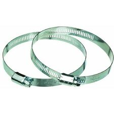 """50 Pack 3"""" Metal Flex Air Heat Duct Hose Clamp For Metal Ducting MC3ZW"""