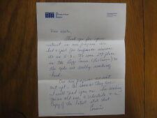 CONNIE  KELCH  Signed Letter  U of Texas-Arlington Women's Basketball Head Coach