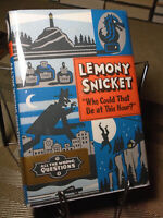 Lemony Snicket, All the Wrong Questions #1, Signed, 1st Edition, 1st Printing