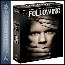 THE FOLLOWING - COMPLETE SEASONS 1 & 2   **BRAND NEW DVD BOXSET*