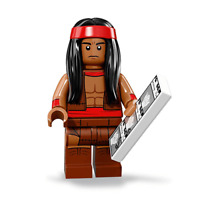 Apache Chief The LEGO Batman Movie Series 2 LEGO Minifigures 71020