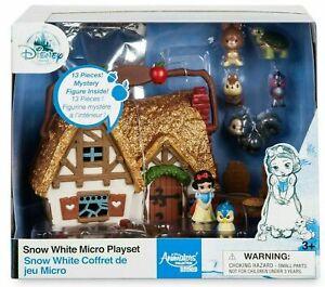 2021 Disney Store Snow White Micro Playset, Disney Animators' Collection Littles