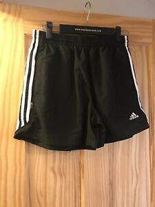 Adidas Shorts Mens Size Small Black Sports Gym
