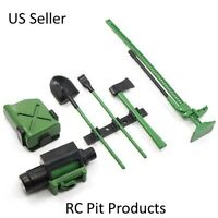 1/10 Scale RC Rock Crawler Accessory Tool Set Green Axial RC4WD US Seller