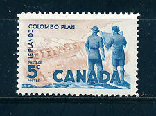 CANADA 1961 TENTH ANNIVERSARY OF COLOMBO PLAN SG520 BLOCK OF MNH