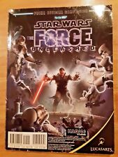 Star Wars The Force Unleashed Manual for Nintendo Wii/Xbox/PS3
