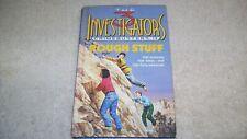 Rare THREE INVESTIGATORS CRIMEBUSTERS #3 ROUGH STUFF 1ST edition VG