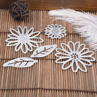 Blume Blatt DIY Cutting Dies Stencil Scrapbook Album Paper Card Embossing Craft
