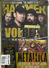 METAL HAMMER MAGAZINE, BORN TO RAISE HELL !  OCTOBER, 2013  NO.249    FREE CD