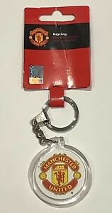 Manchester United Club Crest Official Keyring