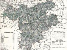 Landkarte TIROL 🗻🌄🏔️177 Jahre alt - KRONLAND Tyrol Südtirol Alto Adige 1842