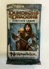 Dungeon & Dragons (D&D) | Fortune Cards | Neverwinter Booster Pack