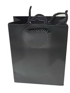 Gift Bags Small Black Matt For All Occasions 15x19cm