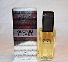 NIB QUORUM Silver eau de toilette spray 1.7 oz 50ml
