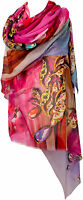 Maxi Schal Sarong Wickeltuch Strand Multicolor scarf écharpe Foulard Stola