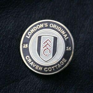 FULHAM FC Pin Badge London's Original Craven Cottage 15 - 16