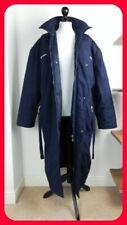 Vintage 90's Umbro Football Manager Coat Long Navy Large