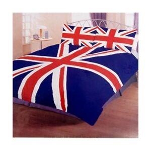 Classic Union Jack Double Duvet cover set.   UK Seller