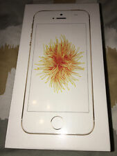 "(NEW & SEALED) APPLE iPHONE SE 16GB GOLD (FACTORY UNLOCKED) GSM 4"" SMARTPHONE"
