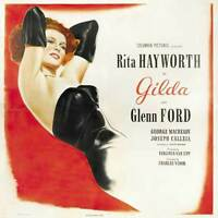 GILDA Movie POSTER 27x40 G Rita Hayworth Glenn Ford George Macready Joseph
