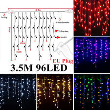 300 LED Christmas Xmas String Fairy Lamp Wedding Party Curtain Outdoor Lights