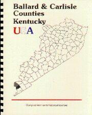 KY~BALLARD/CARLISLE COUNTY KENTUCKY~WICKLIFFE~BARDWELL~1885 HISTORY/BIOGRAPHY