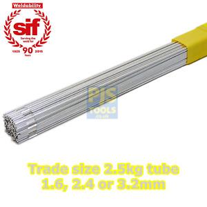 2.5kg x Sifalumin 27 aluminium 5356 5% magnesium sif tig filler rods gas brazing