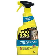 Patio Furniture Cleaner Goo Gone Outdoor Grease Tree Sap Stains 24 FL OZ New