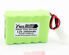 Ni-MH Nickel Metal-Hydride Rechargeable Battery 12V 2000mAh For toys KET AA_10SX