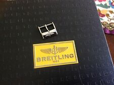 Stainless steel tang buckle 18mm for Breitling
