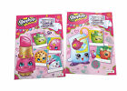 Shopkins Kids Coloring Book Collectible Toys Figurines Activity Books Set of 2
