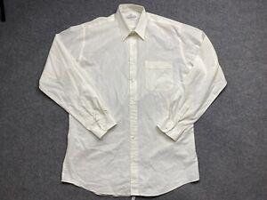Van Heusen Shirt Mens 2 Extra Large / 42 Long Sleeve Button Up Regular Fit Adult