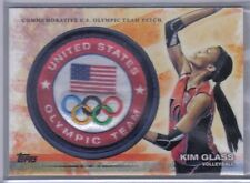 Kim Glass 2012 Topps U.S. Olympic Team & Hopefuls Team Patch #ULP-KG Volleyball