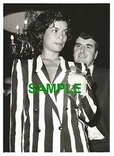PHOTO BIANCA JAGGER SUPER STARS NIGHT OUT COMIC STRIP ROLLING STONES MICK JAGGER