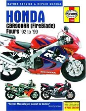 Haynes M2161 Service & Repair Manual for 1992-99 Honda CBR900RR Fireblade