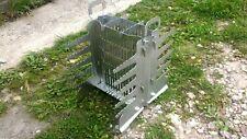 Vertical mangal for shashlik (vertical grill)