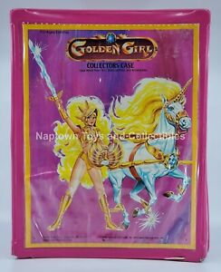 Golden Girl & Guardians of the Gemstones COLLECTOR'S CASE Incomplete Galoob 1985