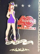 Hard Rock Cafe Medellin 40th Anniversary Girl Pin