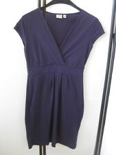 Esprit schönes Mini Kleid Gr.XS lila & Figurbetont & V-Ausschnitt TOP