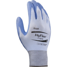 6 Pair Ansell Hyflex 11-518 Cut Resistant Glove Size 11