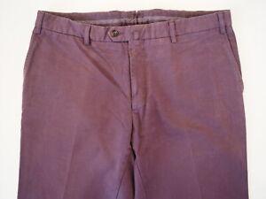 Domenico Vacca Mens Dress Pants Gray Pleated Size 58